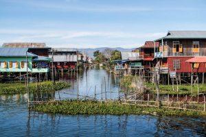 Floating Villages in Myanmar
