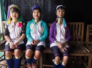 Langhals Frauen in Myanmar