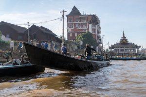 Der Ort Nyaung Shwe in Myanmar