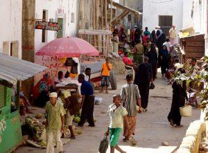 Straßen von Lamu Town