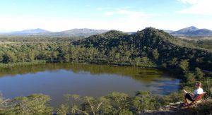 Sehenswürdigkeiten in Kenia - Blick auf den Crater Lake