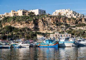 Harbor in Malta