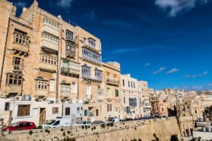 Backpacking Valletta, Malta