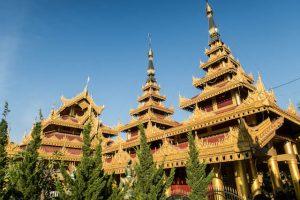Myanmar Mandalay Tempelkomplex
