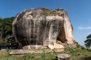 Elefantenfelsen in Mingun