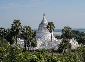 Ausflug von Mandalay nach Mingun in Myanmar