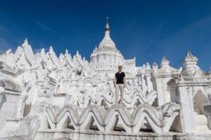 Pagode in Mingun Mandalay