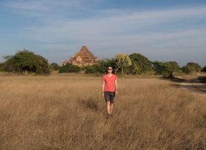 Landschaft von Bagan in Myanmar