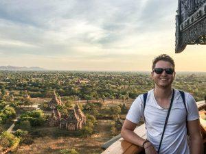 Aussichtspunkt in Bagan Myanmar