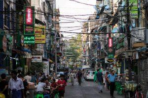 Straßen von Chinatown