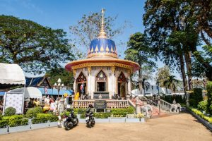 A temple in Chanthaburi