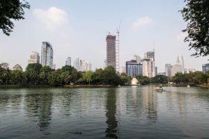 View of Lumphini park