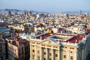 Barcelona Sehenswürdigkeiten: Aussicht auf Barcelona von Colom