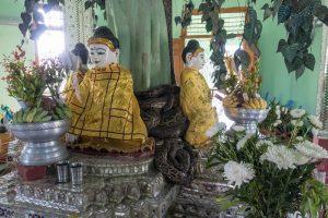 Yangon Sehenswürdigkeiten: Der Schlangentempel