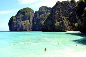 Bucht beim Thailand Urlaub