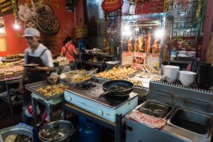 Try the streetfood in Thailand