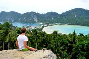 Thailand Island Hopping: View of Koh Phi Phi