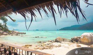 Koh Lipe when island hopping in Thailand