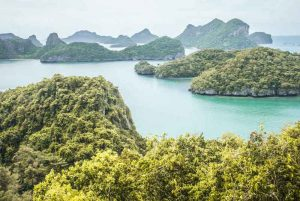 View of Koh Wa Talap in Thailand