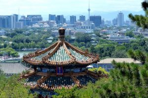 Backpacking China travel tips view of beijing