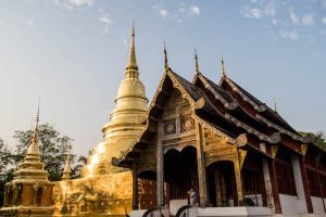 Pagode und Tempel in Thailand
