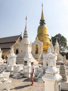 Chiang Mai Tempel: Der Wat Suan Dok ist eine Attraktion in Thailand
