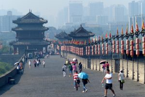 Information about internet access with a VPN in China, picture of Xian