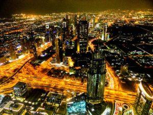 Ausblick vom Burj Al Khalifa