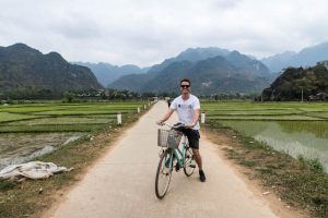 Reisfelder in Mai Chau