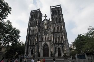 Cathedral in Hanoi