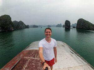Visiting Halong Bay outside of hanoi