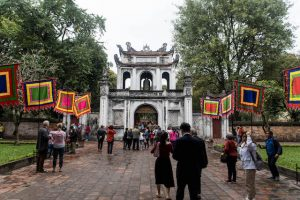 Sehenswerter Literaturtempel in Hanoi