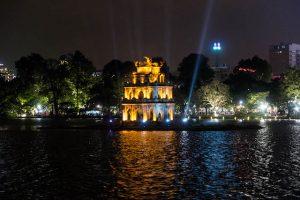 Nacht in Hanoi Vietnam