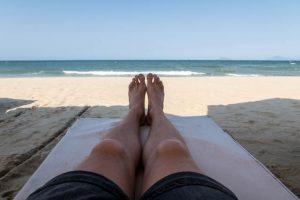 Strand bei Vietnams Hoi An