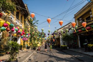 Old Town von Hoi An Vietnam