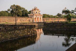 Zitadelle als Sehenswürdigkeit in Hue Vietnam