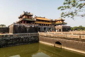 Berühmte Hue Sehenswürdigkeit ist die Imperial City