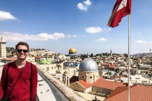 Ausblick auf Jerusalem in Israel