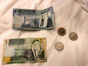 Jordanien Reisetipps zum Geld und der lokalen Währung