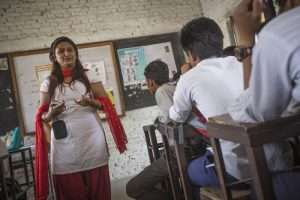 Nepal women program