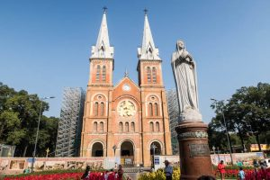 Cathedral in Saigon