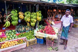 Markt in Sri Lanka