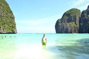 Maya Bay as part of my Thailand island hopping itinerary
