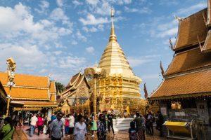 Thailand Sehenswürdigkeit in Chiang Mai: Doi Suthep
