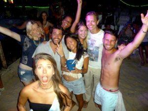 Party auf den Inseln