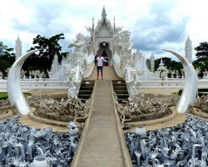 Sehenswerter Tempel in Chiang Rai, Thailand