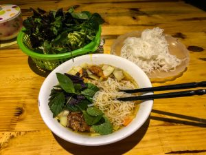 Eat Bun Cha dish