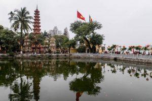 Pagoda in the lake
