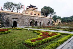 Eine der Hanoi Sehenswürdigkeiten ist die Zitadelle