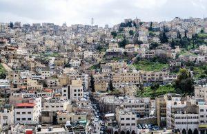 Häuser in Jordaniens Hauptstadt Amman